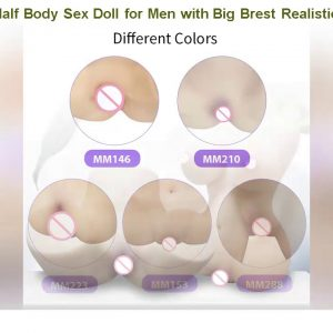 Sale! Sex Dolll & Half Body Sex Doll for Men with Big Brest Realistic 3D artificial vagina for Male