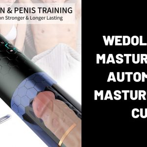 WeDol Male Masturbator Automatic Masturbation Cup | Realistic Vagina Oral Stroker Sex Toys for Men